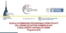 Il 18 gennaio apre l'anno accademico della Scuola di Formazione Piero Piccatti