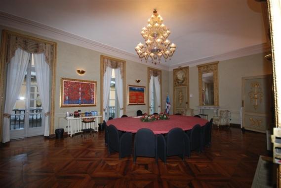 La sala riunioni dell'Ordine