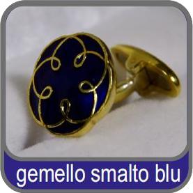 Gemello smalto blu ODCEC Torino